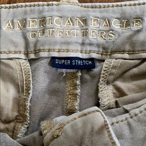 American Eagle Outfitters Shorts - AE stretch khaki shorts